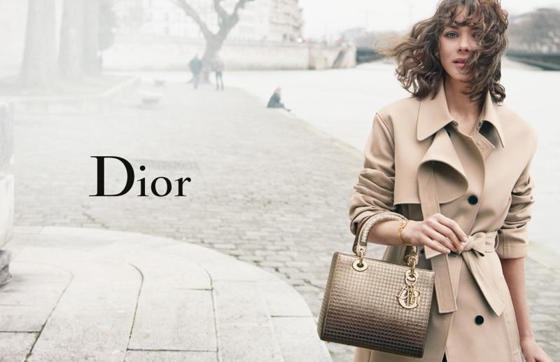 Marion Cotillard stars in Lady Dior 2016 handbag campaign