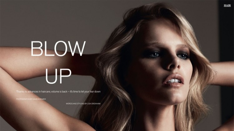 Marloes Horst Gives Us Major Hair Envy in Marie Claire UK