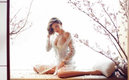 Miranda Kerr is a Sheer Beauty in Grazia China
