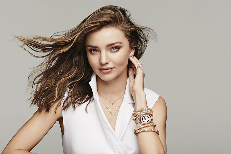 Miranda Kerr stars in Swarovski Mother's Day 2016 campaign