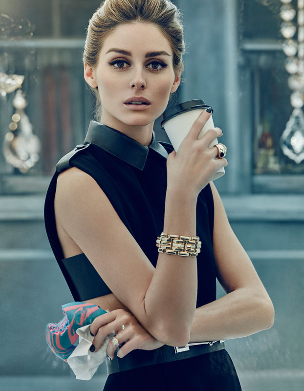 Olivia Palermo Channels the Timeless Style of Audrey Hepburn