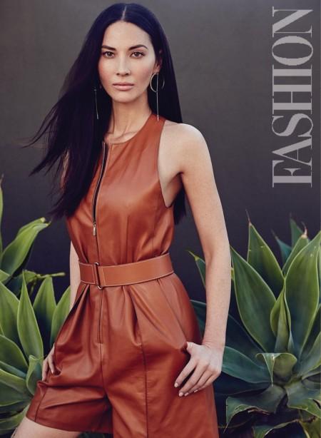 Olivia Munn Poses for FASHION Magazine, Talks Plastic Surgery Rumors