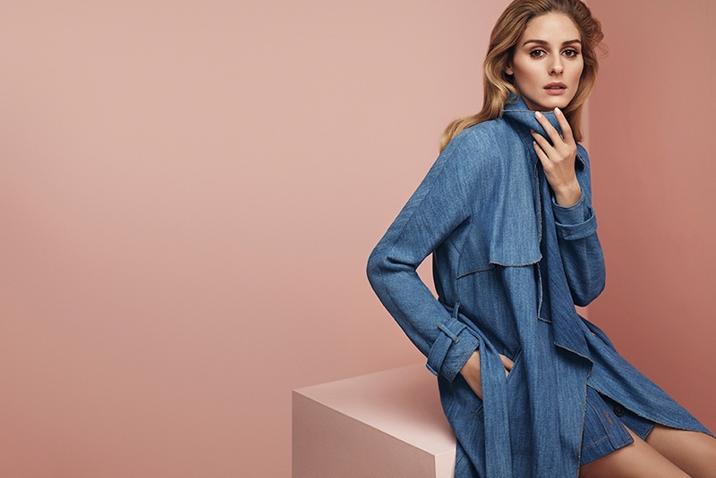 Olivia Palermo has been named the face of MAX&Co's spring 2016 advertising campaign