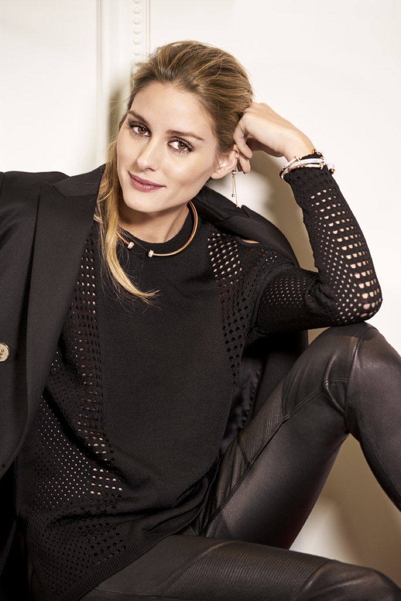 Olivia Palermo has been named the face of Piaget jewelry's Possession collection