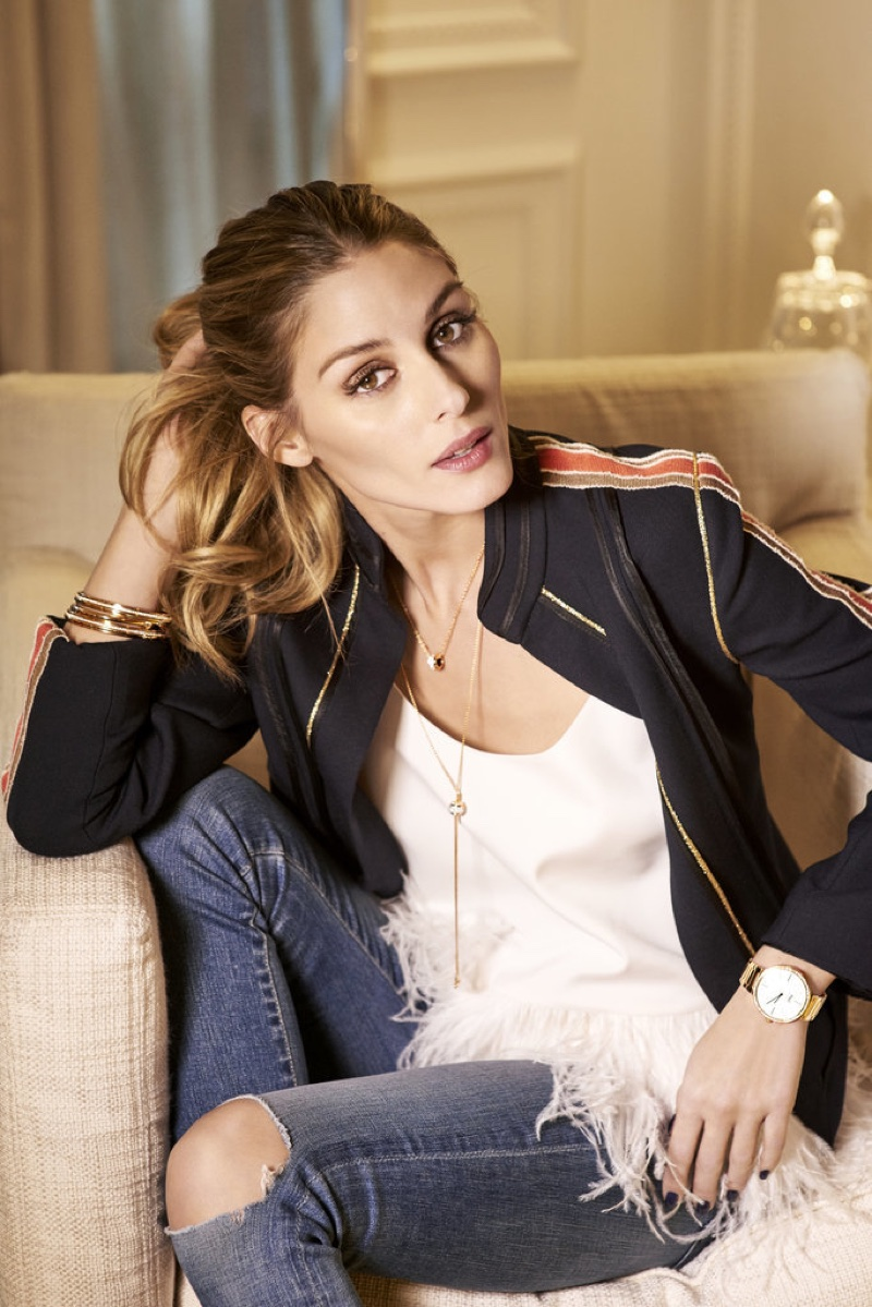 Style star Olivia Palermo poses for Piaget jewelry