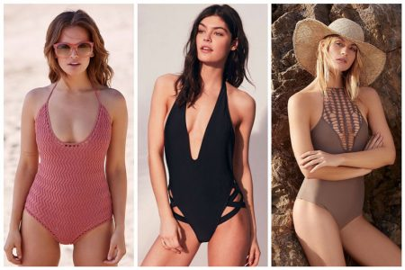 Ditch the Bikini for One of These Sexy One-Piece Swimsuits