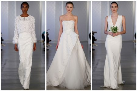 Oscar de la Renta's Spring 2017 Bridal Collection is Pure Elegance