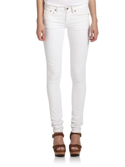 Polo Ralph Lauren White Skinny Jeans