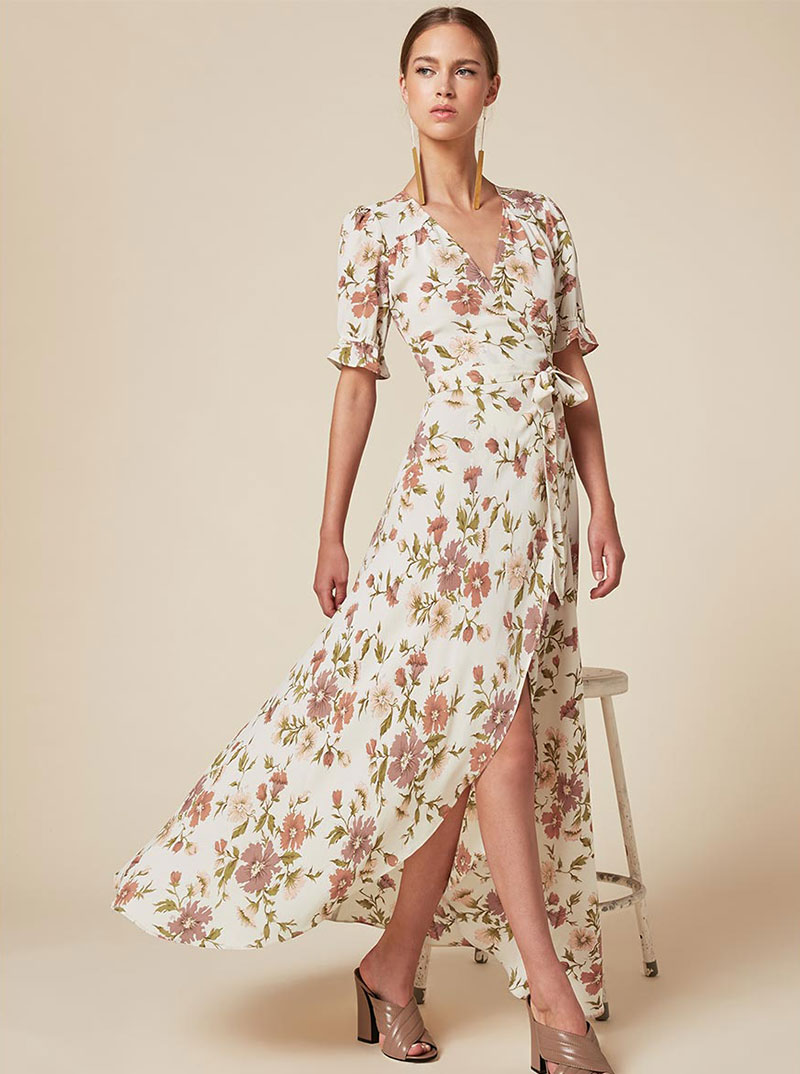 Reformation Addilyn Dress in Sonoma