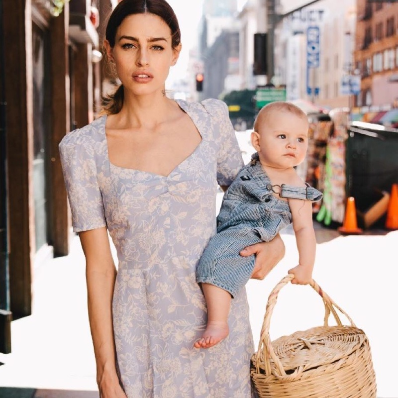 9233c8741d1 Reformation Celebrates Mother's Day with a Dress for Breastfeeding Moms
