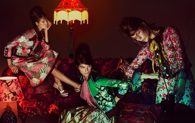 Marcele, Josefien and Alexandra star in How to Spend It editorial