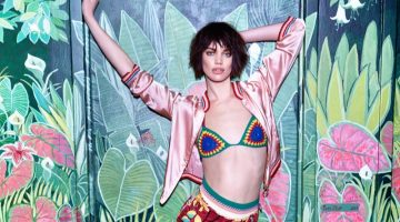 Rianne ten Haken Gets Tropical in Tommy Hilfiger for ELLE Romania