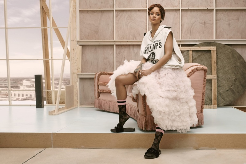 de3d96221b3 Rihanna collaborates with Stance on third sock collection