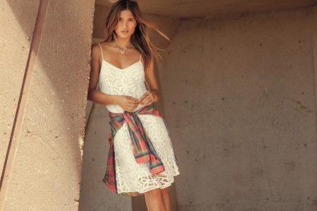 Rocky Barnes Embraces Polo Ralph Lauren's Sunny Styles