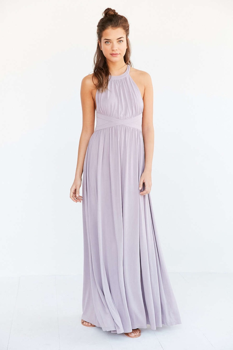 Silence + Noise Goddess Knit Maxi Dress