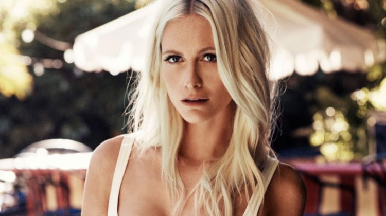 Poppy Delevingne's Solid & Striped Collaboration is Swimsuit Heaven
