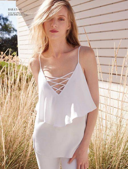 Daria Strokous Wears Modern Boho Looks for Saks