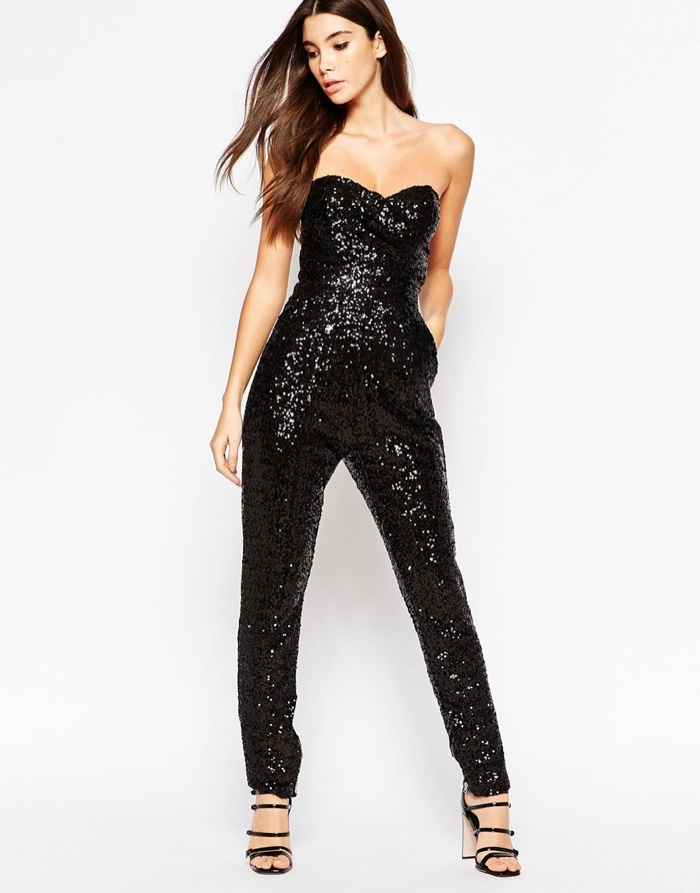 Taylor Swift Style: Saint Laurent Sequin Jumpsuit iHeart Radio