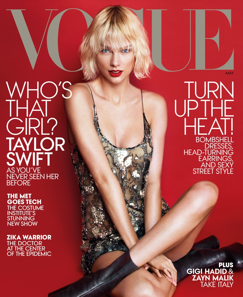 Taylor Swift on Vogue May 2016 Cover