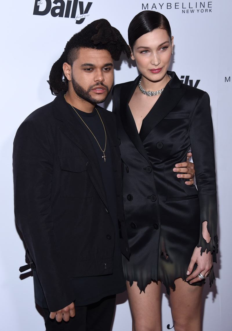 MARCH 2016: The Weeknd and Bella Hadid attend the 2016 Daily Front Row Los Angeles Awards. Photo: DFree / Shutterstock.com