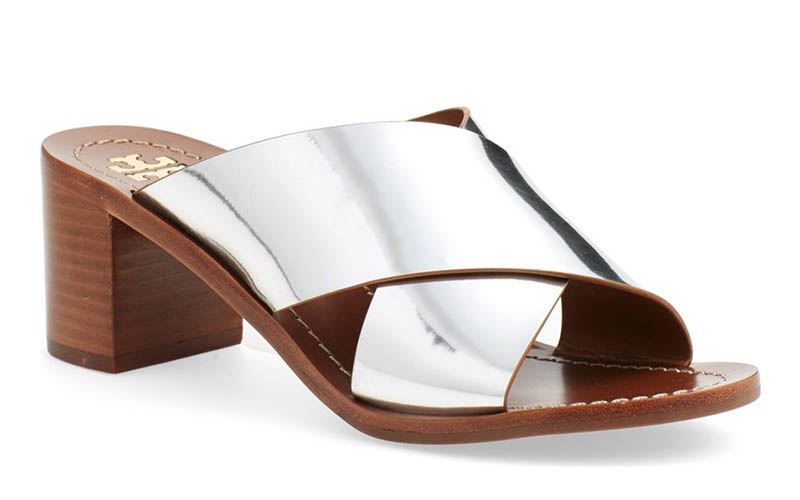 Tory Burch Montrose Sandal Silver Slide