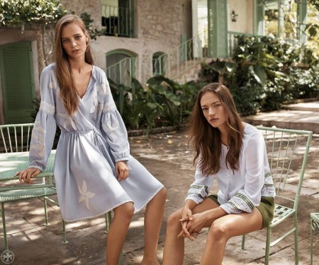 Tory Burch Spotlights Sunny Style for Spring