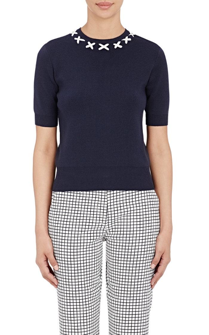 Tory Sport Performance Short Sleeve Sweater