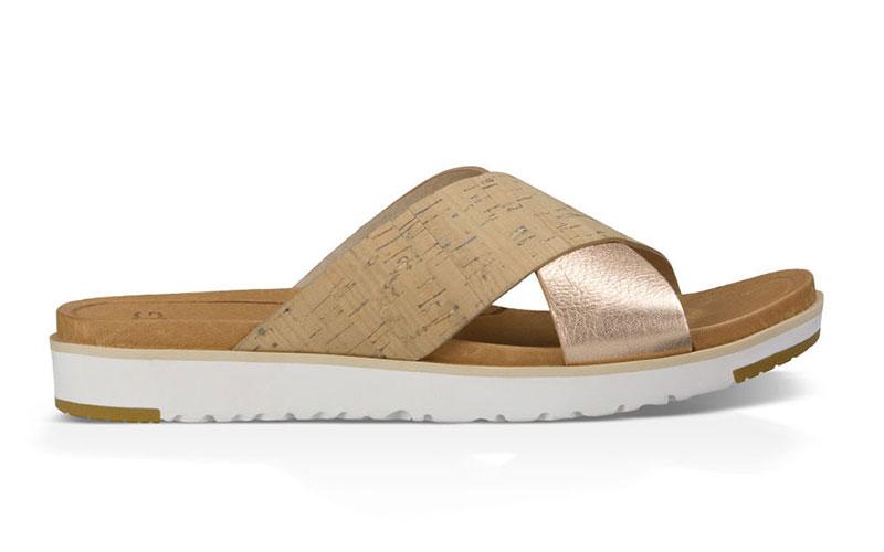 UGG® Kari Metallic Sandal