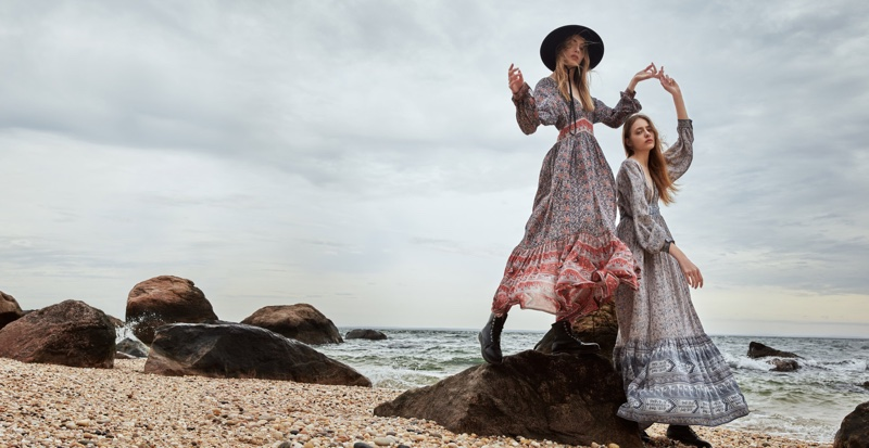 Ulla Johnson's spring 2016 collection features dreamy maxi dresses with bohemian prints