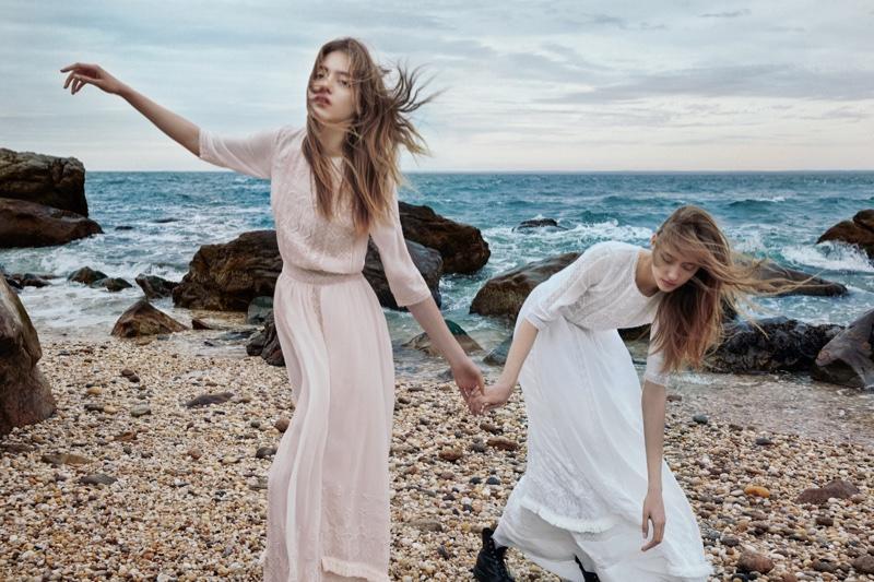 Odette and Lia Pavlova star in Ulla Johnson's spring-summer 2016 campaign