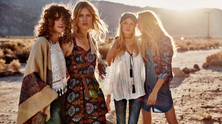 Vero Moda Heads to Palm Springs for Spring 2016 Campaign