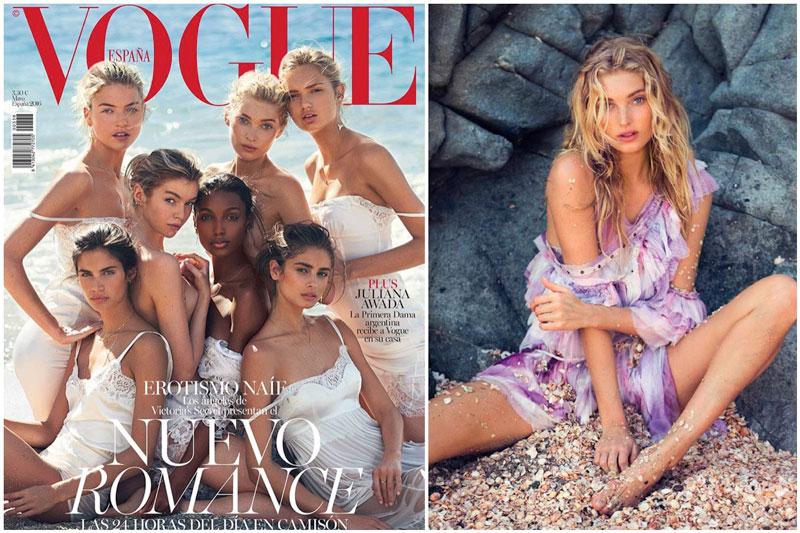 Victoria's Secret Angels Strip Down for Vogue Spain Cover Story