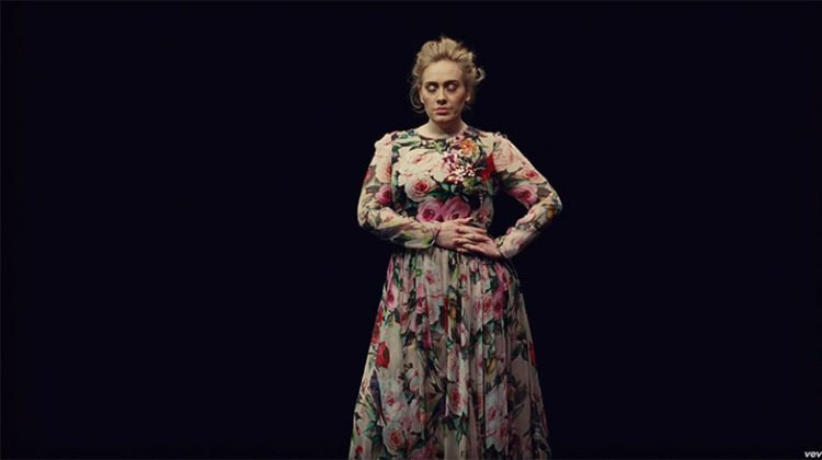 Get the Look: Adele's Floral Gown in Her 'Send My Love' Music Video
