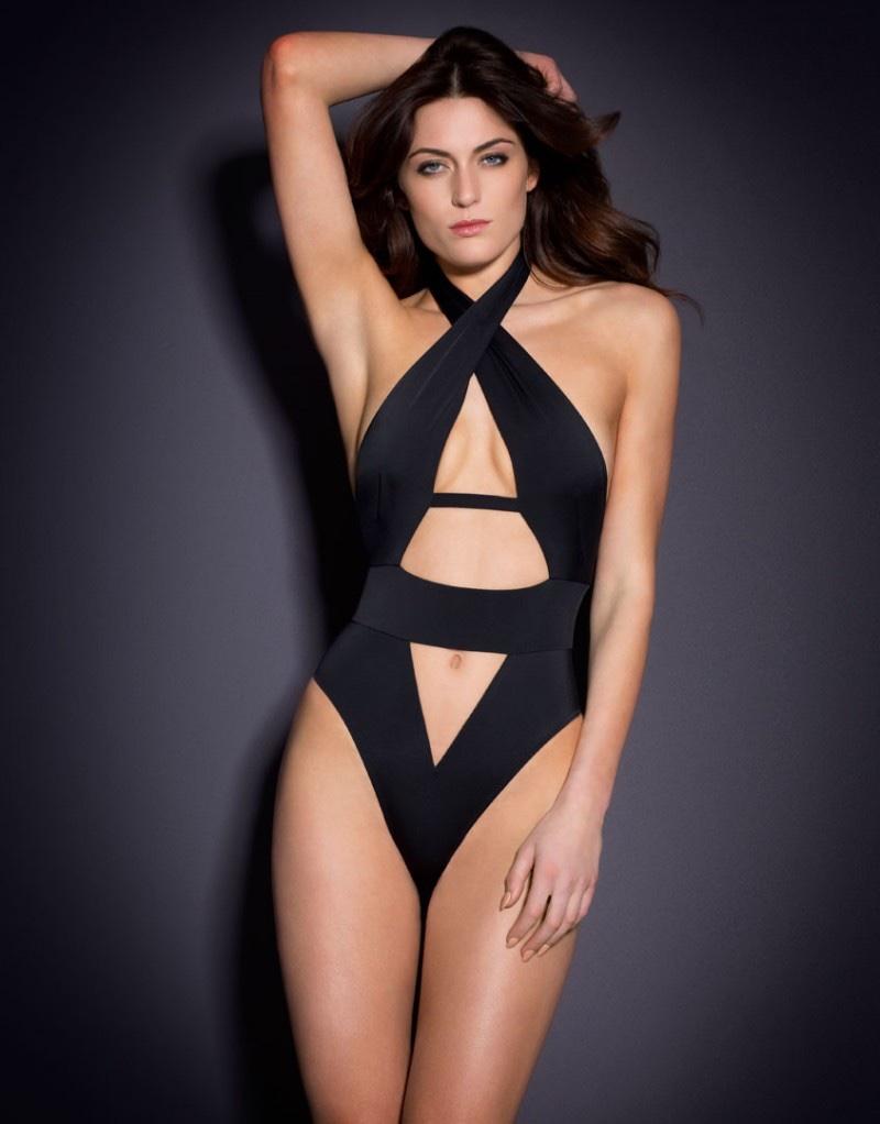 Agent Provocateur Anja Black Swimsuit
