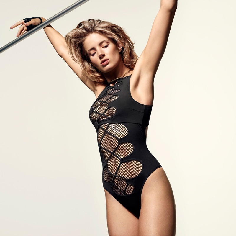 Agent Provocateur Hatty Swimsuit in Black