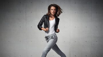 Alessandra Ambrosio Shows Off Her Moves for Replay Jeans