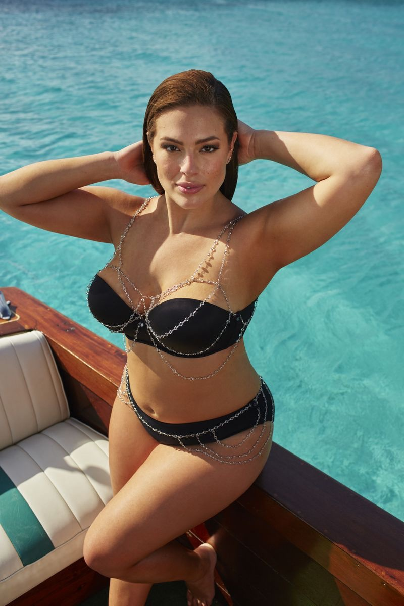 Ashley Graham x Swimsuitsforall Intrigue Swimsuit