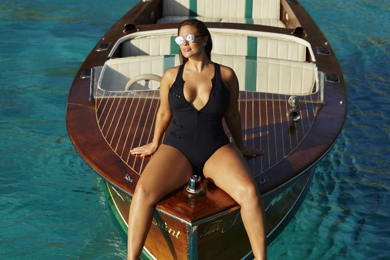 Ashley Graham x Swimsuitsforall Stakeout Swimsuit