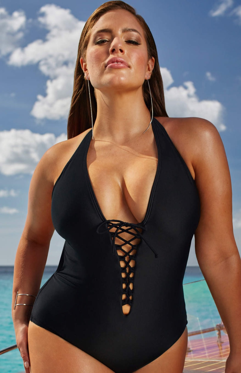 Ashley Graham Swimsuitsforall Plus-Size Collection Shop