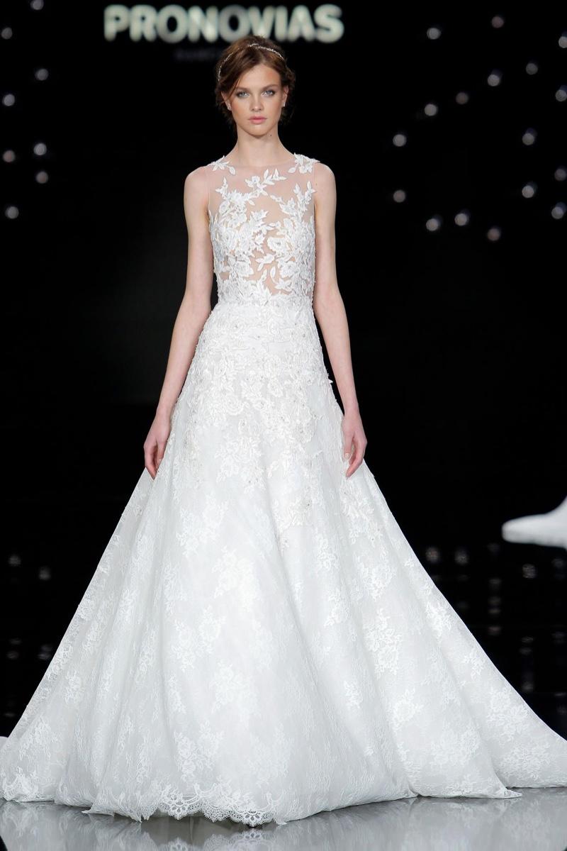 Images Of Wedding Dresses 2017 : Atelier pronovias bridal wedding dresses runway