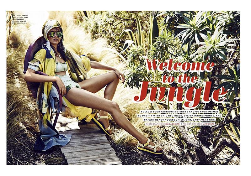 Barbara Fialho stars in Cosmopolitan UK's June issue