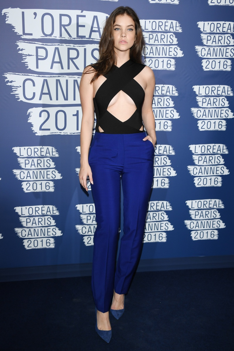 MAY 2016: Barbara Palvin attends the L'Oreal Paris Blue Obsession party held in Cannes, France. Photo: Venturelli / WireImage