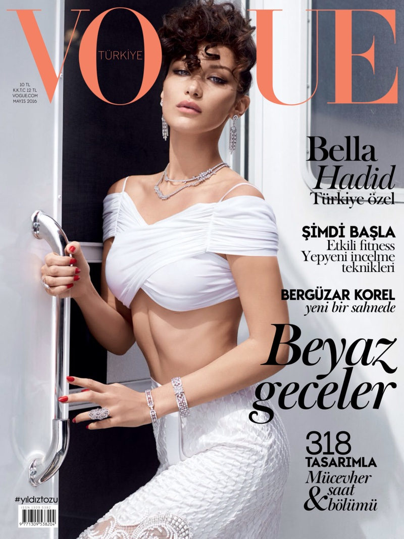 Bella Hadid on Vogue Turkey May 2016 Cover