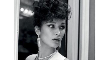Bella Hadid Goes Movie Star Glam for Vogue Turkey