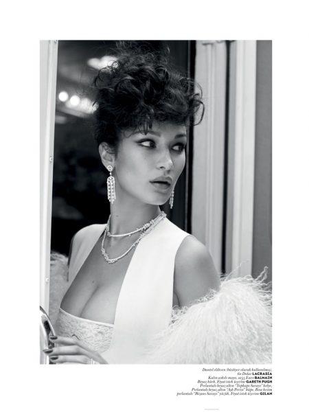Bella Hadid Goes Movie Star Glam for Vogue Turkey
