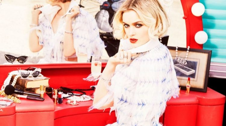 Bella Heathcote Goes Movie Star Glam for Vs. Magazine