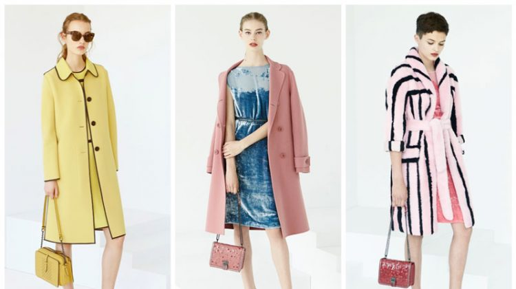 Bottega Veneta Focuses on Polished Pastels for Resort 2017