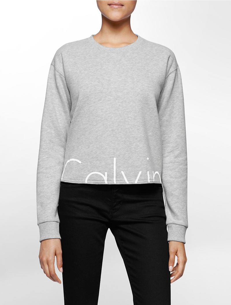 Calvin Klein Jeans Cropped Logo Top