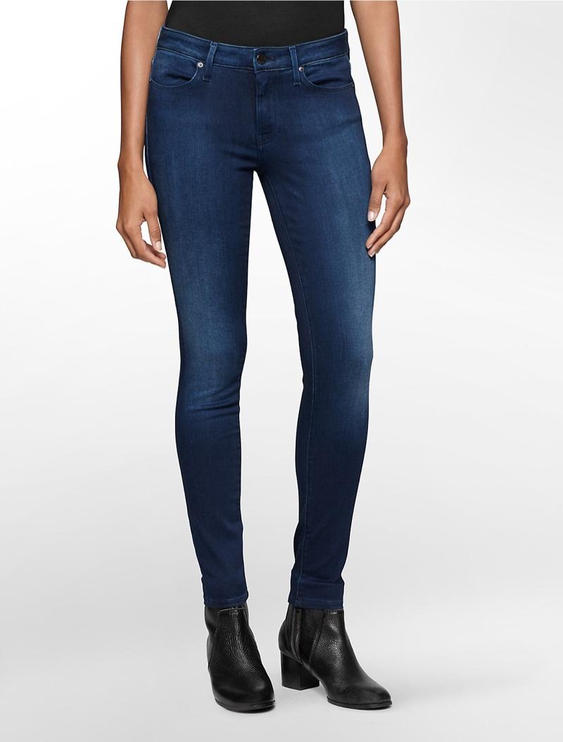 Calvin Klein Jeans Medium Blue Wash Leggings