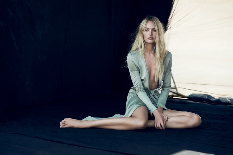 Candice Swanepoel for Givenchy Dahlia Divin Le Nectar